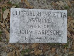 Clifford Henrietta <i>Ashmore</i> Harrison