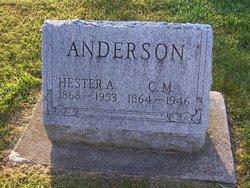 C. M. Anderson