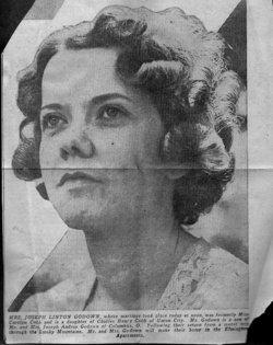 Carolyn Elizabeth <i>Cobb</i> Godown