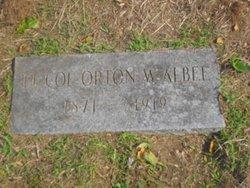 LTC Orton W. Albee