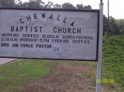 Chewalla Baptist Church Cemetery
