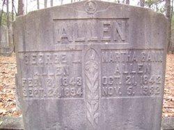 Martha <i>Gann</i> Allen