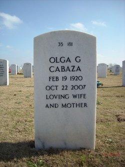 Olga <i>Gutierrez</i> Cabaza