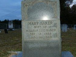 Mary <i>Brantley</i> Baker