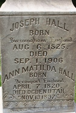 Ann Matilda <i>Worley</i> Hall
