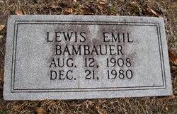 Lewis Emil Bambauer