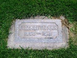 Elizabeth Ann <i>Hamilton</i> Hill