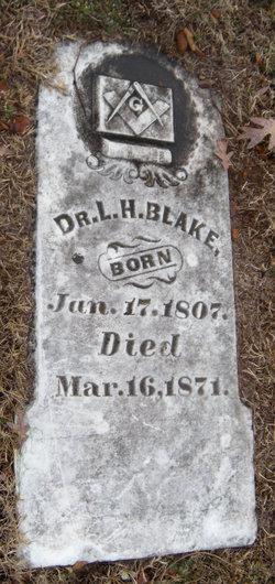 Dr L. H. Blake