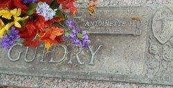 Antoinette <i>Hebert</i> Guidry