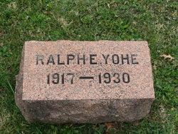 Ralph Elmer Yohe