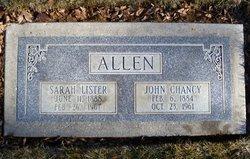 John Chancy Allen
