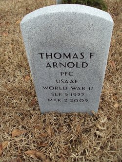Thomas Franklin T F Arnold