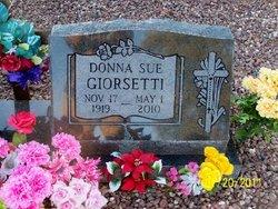 Donna Sue <i>Thrash</i> Giorsetti