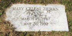 Mary Celini <i>Zieman</i> Payne