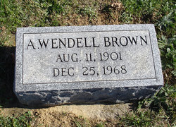 A Wendell Brown
