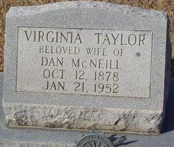 Virginia <i>Taylor</i> McNeill