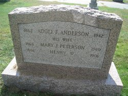 Adolf F Anderson