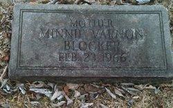 Minnie <i>Varnon</i> Blocker