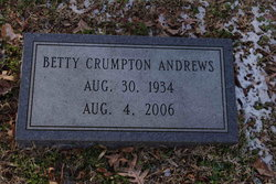 Betty Eugenia <i>Crumpton</i> Andrews