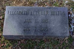 Elizabeth <i>Fulcher</i> Belton