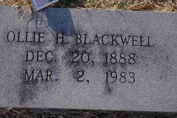 Ollie Ledbetter <i>Harrelson</i> Blackwell