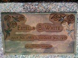 Estella B <i>Cook</i> White
