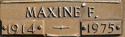 Maxine F. Becker