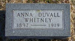Anna <i>Duvall</i> Whitney