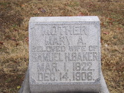 Mary Ann <i>Howell</i> Baker