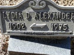 Lydia Droze Alexander