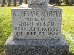 Annie Belvie <i>Martin</i> Allen
