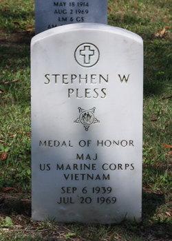 Maj Stephen Wesley Pless