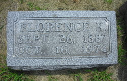Anna Florence <i>Kirkendall</i> Baker