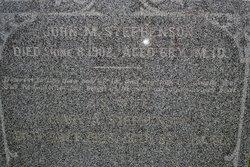Mary A. <i>Dulany</i> Stephenson