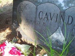 Donald H Cavinder