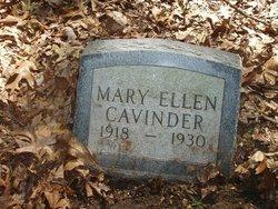 Mary Ellen Cavinder