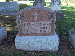 Fred Gallman