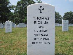 Spec Thomas Rice, Jr