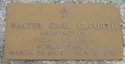 Walter Carl Erfurth