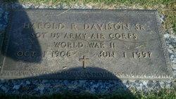 Harold Richard Davison, Sr