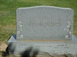 Harriet E Arble