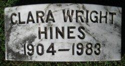 Clara Ursula <i>Wright</i> Hines