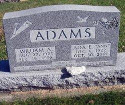 Ada E Ann <i>Barber</i> Adams