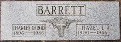 Charles Oliver Barrett