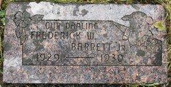 Frederick W Barrett, Jr