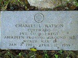 Charles Louis Charley Watson