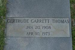 Gertrude <i>Garrett</i> Thomas
