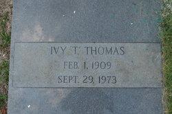Ivy T. Thomas