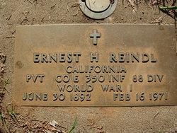 Ernest Henry Dock Reindl