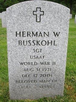 Herman W Busskohl